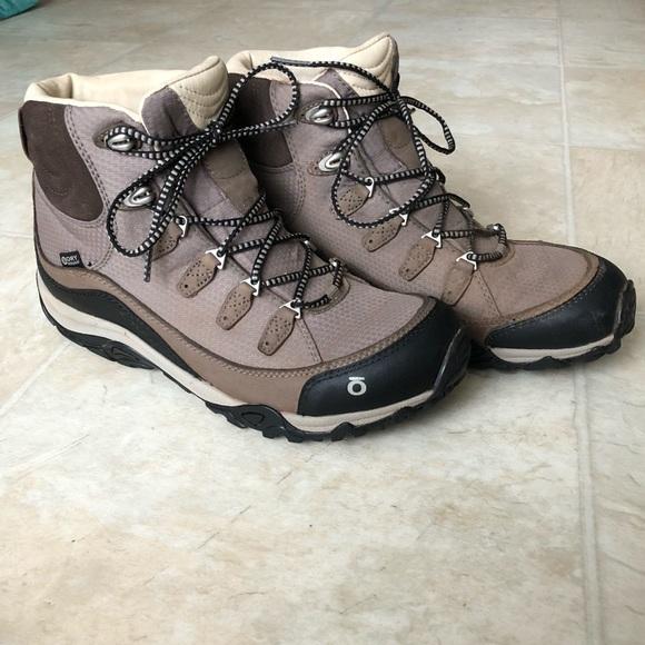 fa4c279a2ec Oboz Women's Juniper Mid BDry Hiking Boot sz 9 EUC